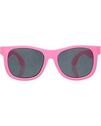 Babiators Sunglasses Original Navigartors, Think Pink - 100% UV Protection - 1 Years Lost & Found Guarantee Sunglasses