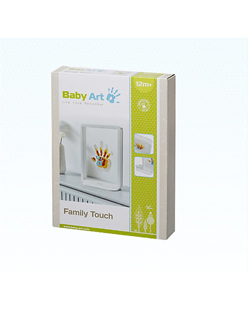 Baby Art Baby Art Family Touch, Imprint Kit for Family  - White Baby's First Albums