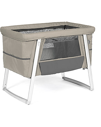 Baby Home Air Cot - Sand - Super light, transportable  Also has wheels or can rock Cribs & Moses Baskets