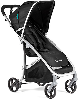 Baby Home Emotion Stroller Black - Manoeuvrable, Light & Compact Pushchairs