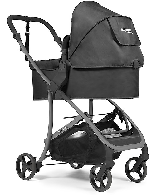 Baby Home Vida Plus Stroller Carrycot Black 2 Black
