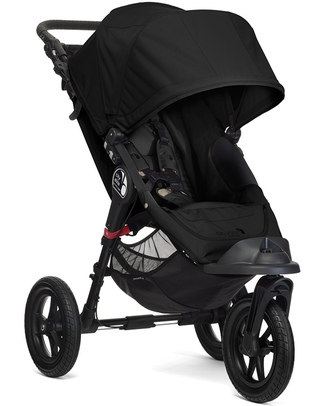 Baby Jogger City Elite - Black - For all terrains - Closes with one hand! Pushchairs