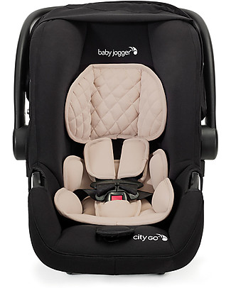 Baby Jogger City Go Car Seat, Tan – 3.6 Kg only! Light and easy to carry! Car Seats