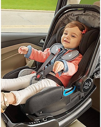 Baby Jogger City Go I-Size Car Seat, Black – Ultra-Safe! (from birth to 18 months) Car Seats