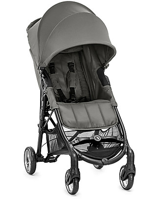 Baby Jogger City Mini™ Zip Baby Stroller - Steel Grey - 3D Fold Technology - For All Terrains! Lights Strollers
