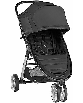 Baby Jogger City Mini 2 Baby Stroller, Jet - 3 wheels, Urban Mobility! Lights Strollers