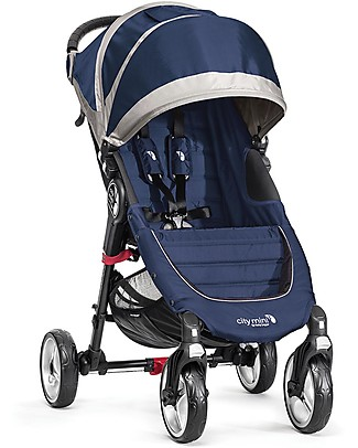 Baby Jogger City Mini 4 Baby Stroller - Cobalt - Quick Fold Technology - For City Life! Pushchairs