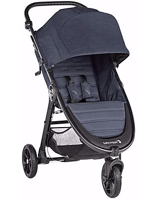 Baby Jogger City Mini GT2 Baby Stroller, Carbon - 3 wheels, Manageable in Any Tracks! Travel Systems