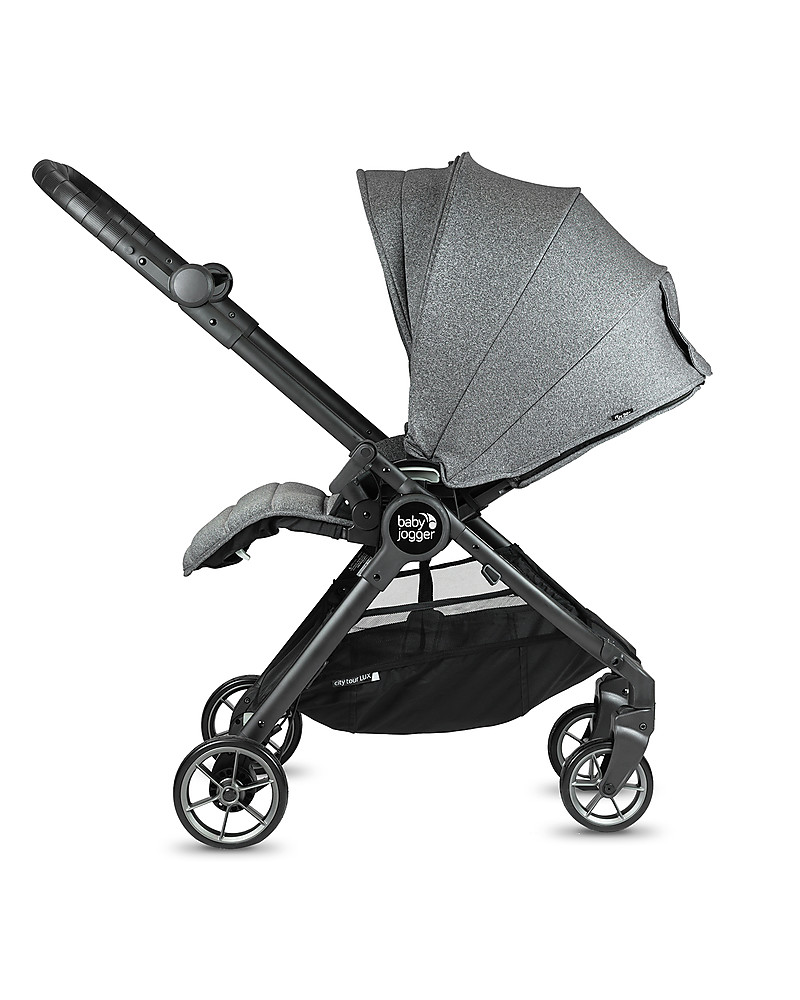 Baby Jogger City Tour Lux Stroller Ash Ultra Compact Reversible