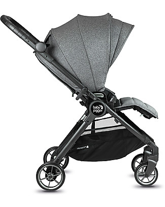 Baby Jogger City Tour Lux Stroller, Ash - Ultra-Compact, Reversible and Light! Pushchairs