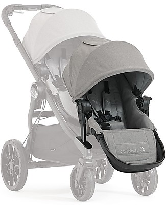 Baby Jogger Second Seat Kit for Convertible Stroller Single/Double/Triple City Select Lux - Slate Double Pushchairs