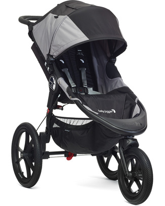 Baby Jogger Summit X3 Baby Stroller - Black/Gray - Perfect For Jogging - Great On All Terrains! Pushchairs