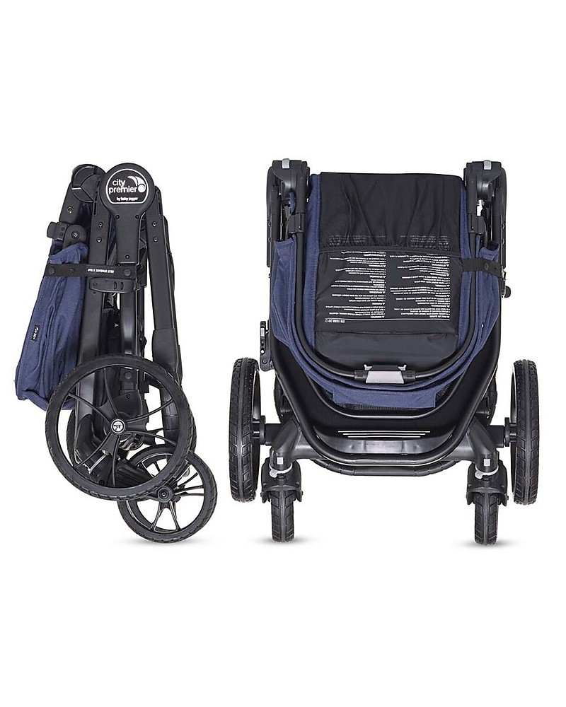 Baby Jogger Travel System Duo City Premier Deluxe Indigo