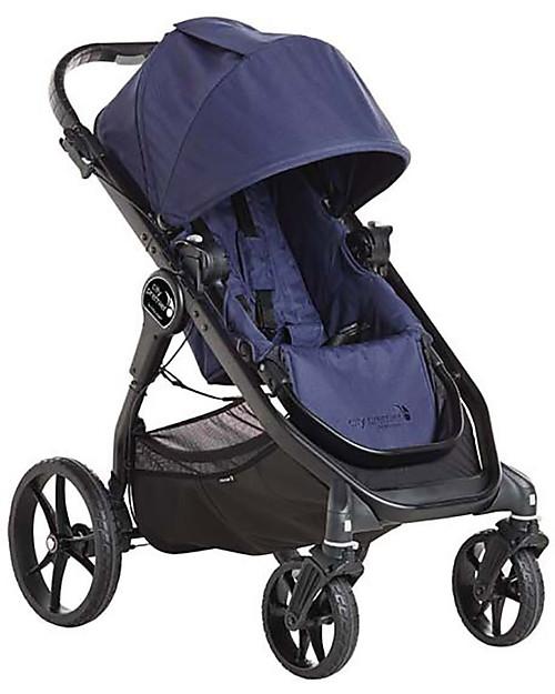 Baby Jogger Travel System Duo City Premier Deluxe Indigo