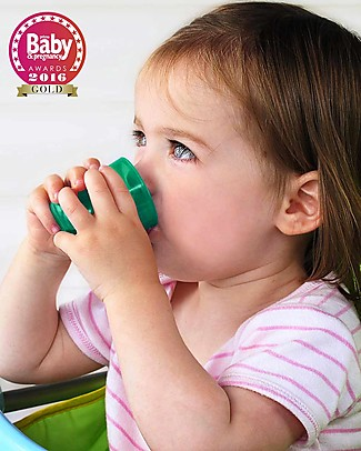 Babycup Babycup First Cup 0-36 months Set of 4 pieces Green - Approved by Dentists and Health Professionals Cups & Beakers