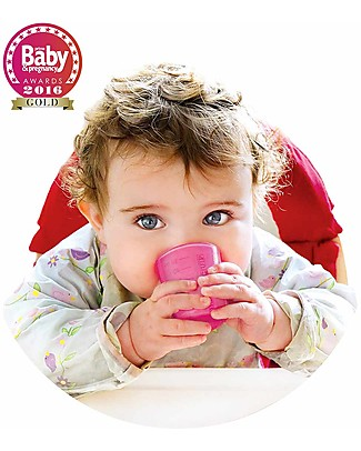 Babycup Babycup First Cup 0-36 months Set of 4 pieces Pink - Approved by Dentists and Health Professionals Cups & Beakers