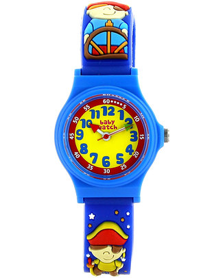 BabyWatch My First Learning Watch - Pirates (suitable from age 3!) Learning Watches