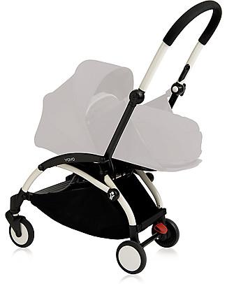 Babyzen Frame for Babyzen Yoyo+ Stroller, White – Includes carry bag, strap and umbrella! Pushchairs