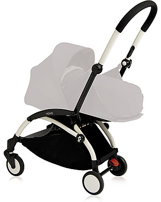Babyzen Frame for Babyzen Yoyo+ Stroller, White - Includes carry bag, strap and umbrella! Pushchairs