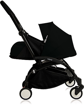 Babyzen Textile Set for Babyzen Pram Yoyo, 0+ months, Black (frame not included) Pram Systems
