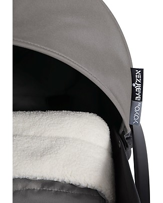 Babyzen Textile Set for Babyzen Pram Yoyo, 0+ months, Grey  (frame not included) Pushchairs