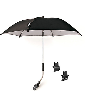 Babyzen Yoyo Parasol, Black - Compatible with any Babyzen stroller and pram Stroller Accessories