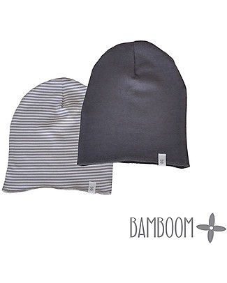 Bamboom Dark Grey Beanie - Bamboo and Cotton  Hats