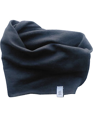 Bamboom Dark Grey Scarf - Bamboo and Cotton Scarves And Shawls