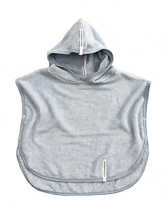 Bamboom Poncho Bathcape, Grey - 100% bamboo Towels And Flannels