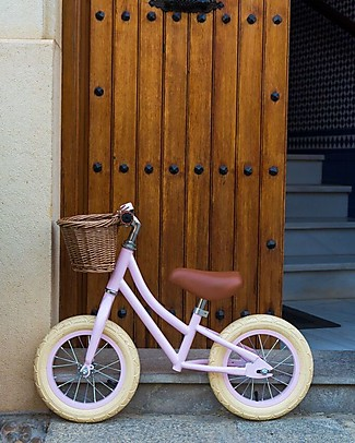 Banwood Balance Bike First Go, Pink - For Girls from 3 to 5 years old! Balance Bikes