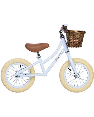 Banwood Balance Bike First Go, Sky - For Girls from 3 to 5 years old!  Balance Bikes