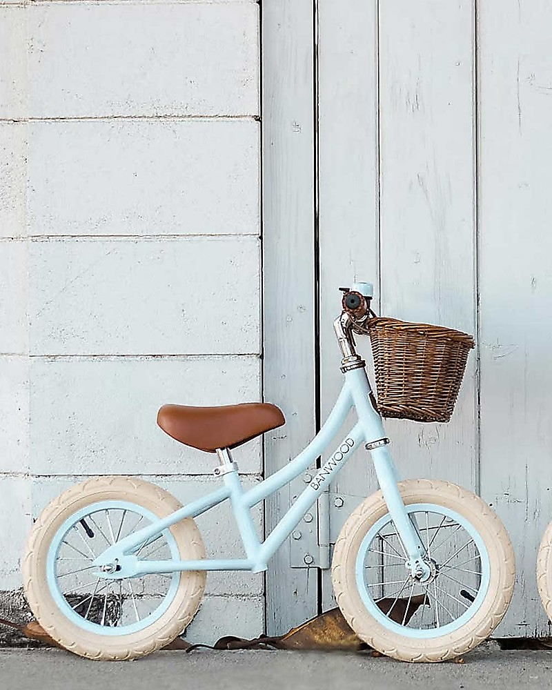 coral cream Banwood Balance bike first go sky or navy white red pink
