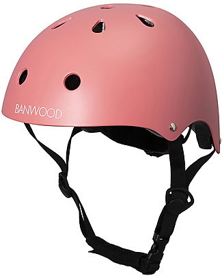 Banwood Classic Bike Helmet, Coral - For Kids from 3 to 7 Years old! Balance Bikes