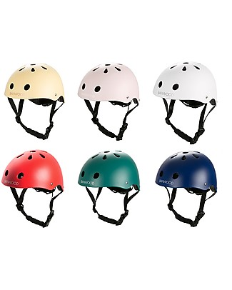 Banwood Classic Bike Helmet, Dark Green - For Kids from 3 to 7 Years old! Balance Bikes