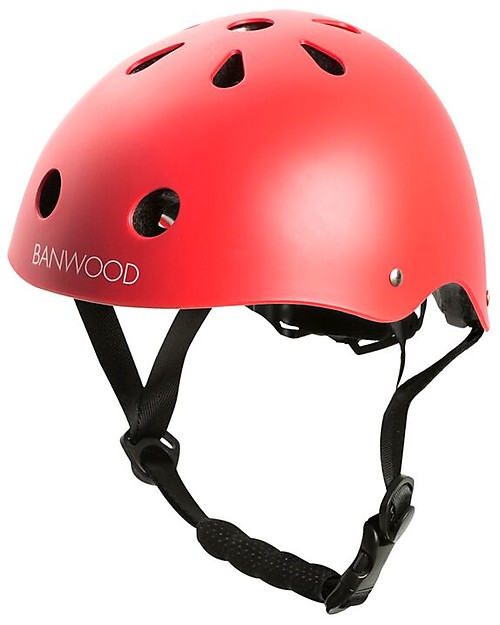 Banwood Classic Bike Helmet Red For Kids From 3 To 7 Years Old