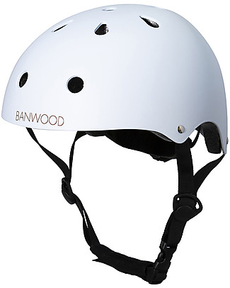 Banwood Classic Bike Helmet, Sky - For Kids from 3 to 7 Years old! Balance Bikes