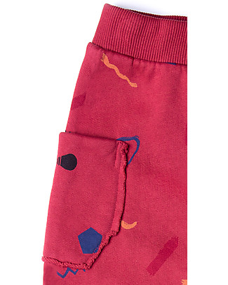 Barn of Monkeys Imagine Baby Sweat Pants, Red - 100% organic cotton Trousers