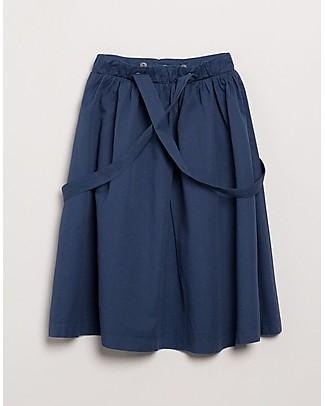 Barn of Monkeys Short Skirt with Straps, Indigo - 100% organic cotton Skirts