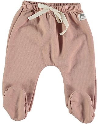 Bean's Barcelona Chatel Footed Sweat Pants, Pink - 100% organic cotton Trousers