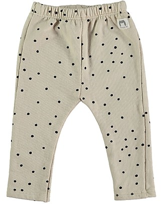 Bean's Barcelona Dolomiti Sweat Leggins, Stone - 100% organic cotton Trousers