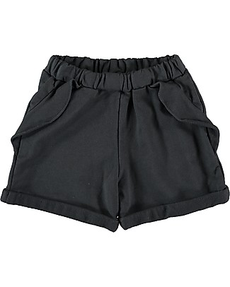Bean's Barcelona Girl Shorts Mykonos, Anthracite - Cotton Shorts
