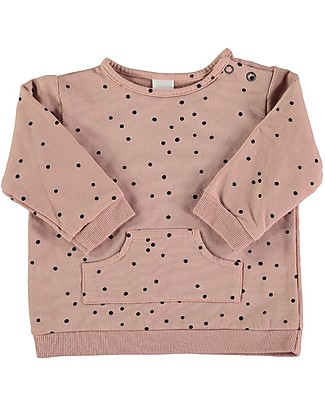 Bean's Barcelona Levi Snowing Sweat, Pink - 100% organic cotton Sweatshirts