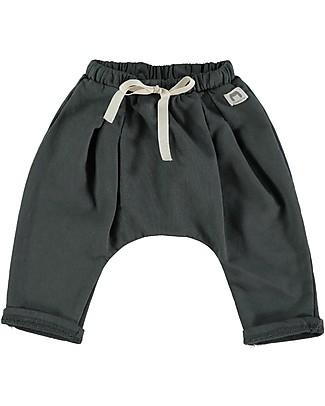 Bean's Barcelona Montana Sweat Pants, Anthracite - 100% organic cotton Trousers