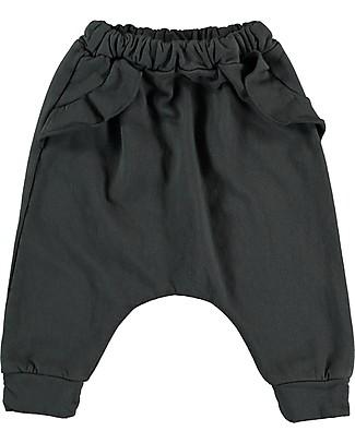 Bean's Barcelona Pine Girl Sweat Pants, Anthracite - Organic cotton Trousers