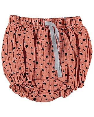 Bean's Barcelona Printed Bloomers Atenas, Peach - Chiffon Shorts
