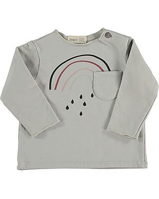 Bean's Barcelona Rainbow Sweatshirt, Ice - Organic cotton Sweatshirts