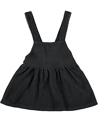 Bean's Barcelona Sleeveless Dress Livorno, Anthracite - Terry Cotton Dresses