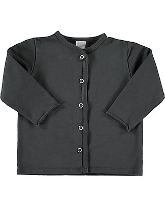 Bean's Barcelona Sweat Jacket Argel, Anthracite - Cotton Cardigans