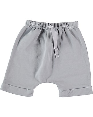 Bean's Barcelona Sweat Shorts Corfù, Grey - Organic cotton Shorts