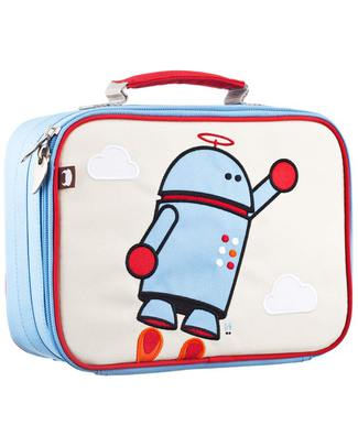 Beatrix NY Alexander the Robot Insulated Lunch Box - Durable and Safe (BPA and PVC Free) Lunch Boxes